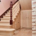 Производство лестниц из массива
